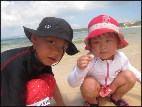 8月5日今日は万座でダイビング&ちびっこ浜遊び!!_c0070933_21400949.jpg