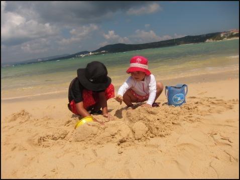 8月5日今日は万座でダイビング&ちびっこ浜遊び!!_c0070933_21423694.jpg