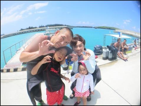 8月5日今日は万座でダイビング&ちびっこ浜遊び!!_c0070933_21440059.jpg
