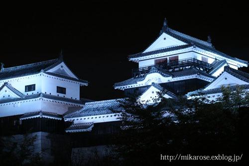 ステーキと松山城ライトup_a0264538_09021276.jpg