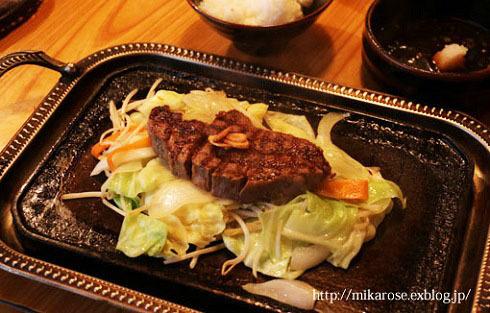 ステーキと松山城ライトup_a0264538_10253983.jpg