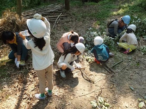 今年から始めた夏休み特別企画「竹取物語」_e0272869_22080385.jpg