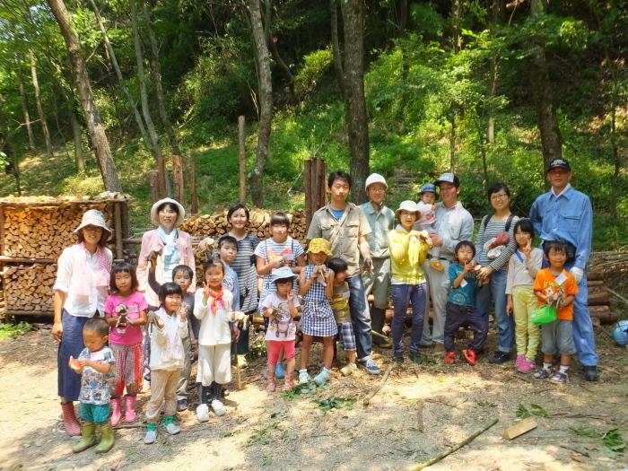 今年から始めた夏休み特別企画「竹取物語」_e0272869_22282010.jpg