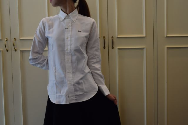 日々の中で ボタンダウンシャツ  ・ ・ ・    = Scye =_b0110586_15314308.jpg