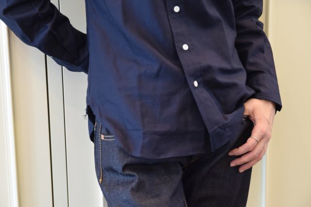 日々の中で ボタンダウンシャツ  ・ ・ ・    = Scye =_b0110586_17411674.jpg