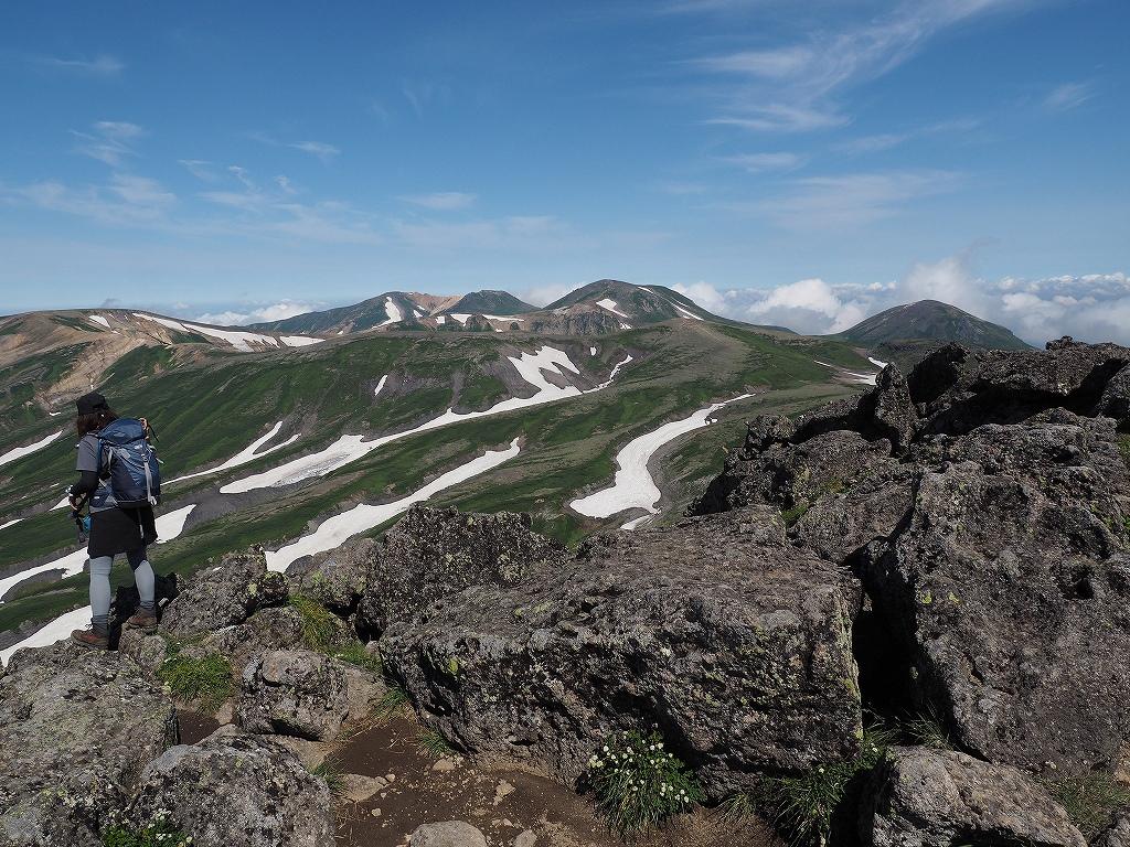 大雪3色登山、8月3日-白雲岳編-_f0138096_12102624.jpg