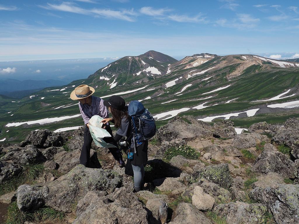 大雪3色登山、8月3日-白雲岳編-_f0138096_12103426.jpg