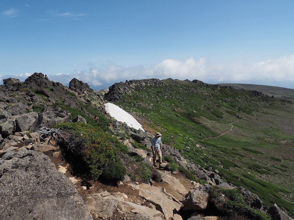 大雪3色登山、8月3日-白雲岳編-_f0138096_12104247.jpg