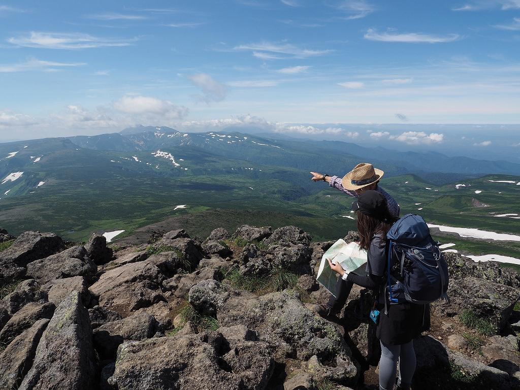 大雪3色登山、8月3日-白雲岳編-_f0138096_12105827.jpg