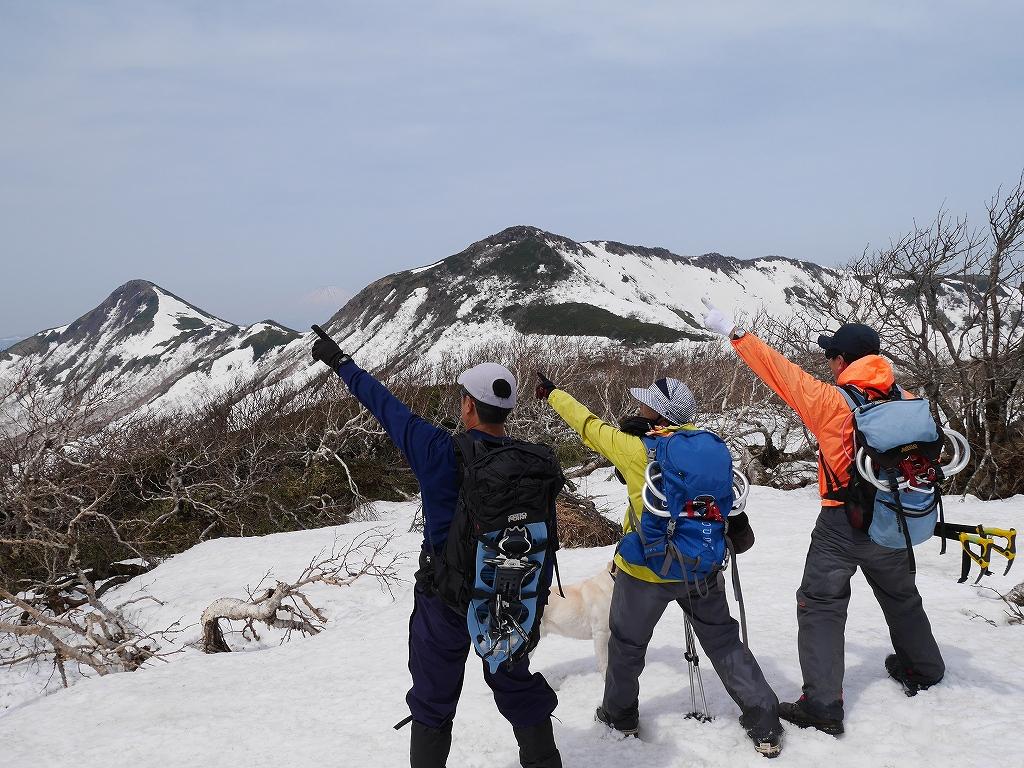 大雪3色登山、8月3日-白雲岳編-_f0138096_12122736.jpg