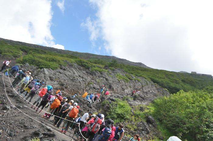 富士登山 五合目から八合目_b0067012_1337218.jpg