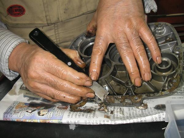 BMW 旧Rタイプ 75-100 ミッションOH_e0218639_1184395.jpg