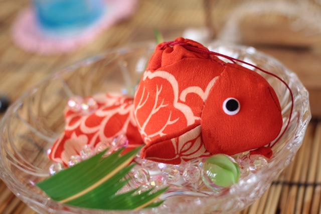 涼 ディスプレイ 金魚! さくら市 美容室エスポワール_f0052744_17335087.jpg
