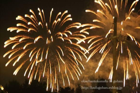 花火大会のおうち居酒屋さん&我が家の特等席から花火見物_c0326245_11241822.jpg