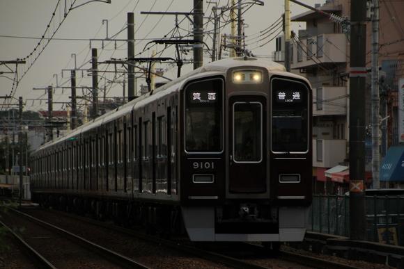 阪急箕面線 夕方_d0202264_18255449.jpg