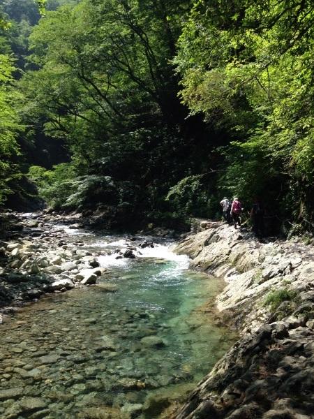 ハイキング(西沢渓谷)_b0219170_13300776.jpg