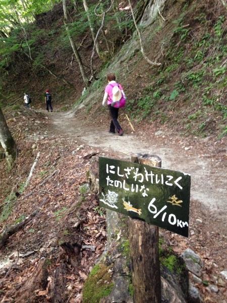 ハイキング(西沢渓谷)_b0219170_13393993.jpg