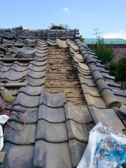 板橋区の徳丸で、屋根修理工事_c0223192_17322032.jpg