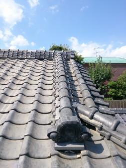 板橋区の徳丸で、屋根修理工事_c0223192_17325568.jpg