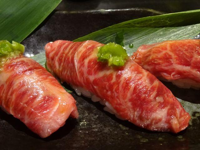 美味しい美味しい和牛寿司@ロンドン_f0096017_7123958.jpg