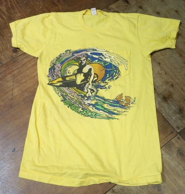 8/8(土)入荷!70s〜HANG TEN print on Pocket Tシャツ!_c0144020_15215526.jpg