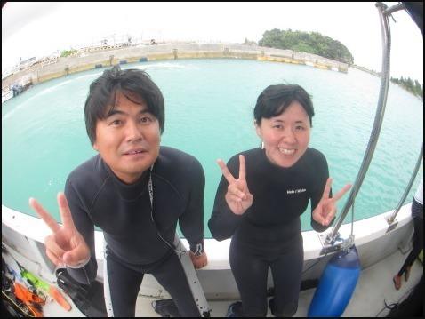8月7日ギリギリ体験ダイビングとのんびりファンダイブ♪_c0070933_21523033.jpg