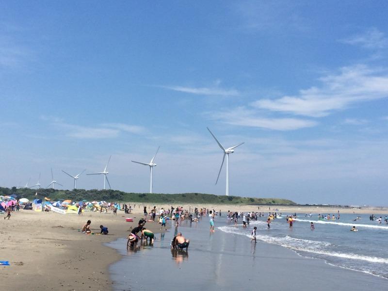 日川浜・波崎両海水浴場の再開について_f0229750_21325932.jpg