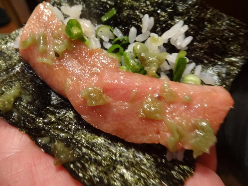 久し振りのキッチンスタジアム、この日は手巻き寿司です。_c0225997_19512543.jpg