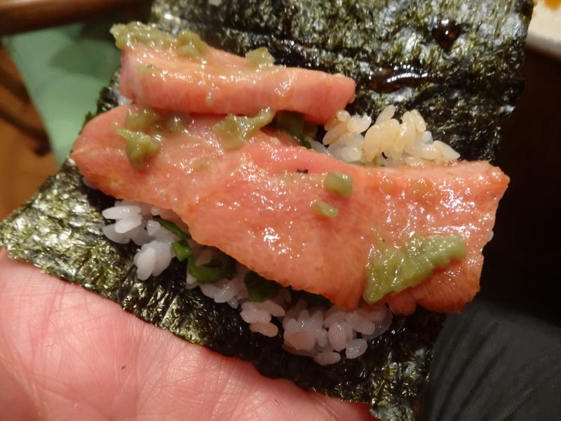 久し振りのキッチンスタジアム、この日は手巻き寿司です。_c0225997_8563778.jpg