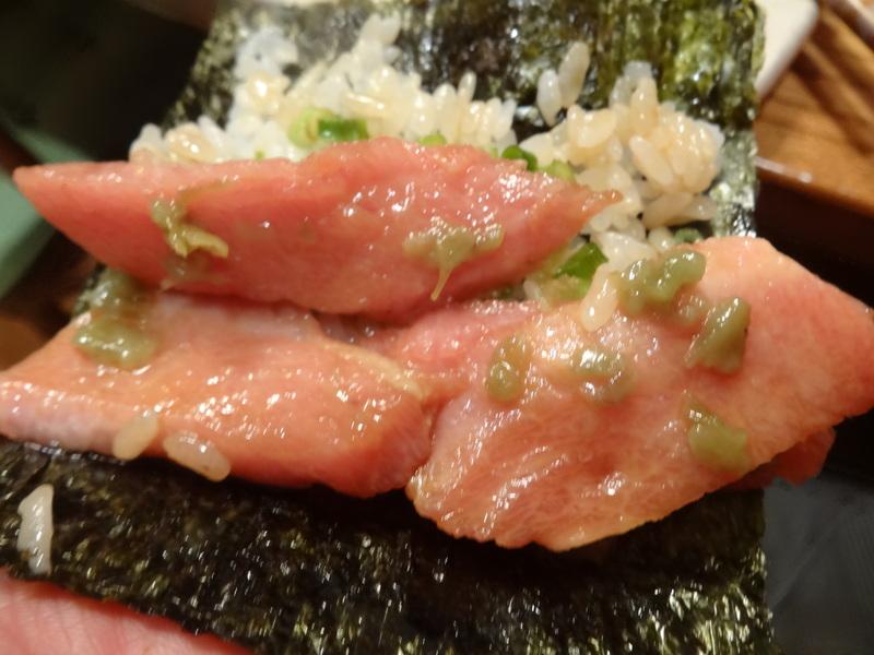 久し振りのキッチンスタジアム、この日は手巻き寿司です。_c0225997_8581053.jpg