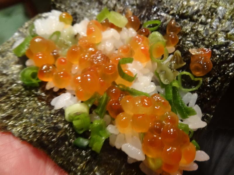 久し振りのキッチンスタジアム、この日は手巻き寿司です。_c0225997_915491.jpg
