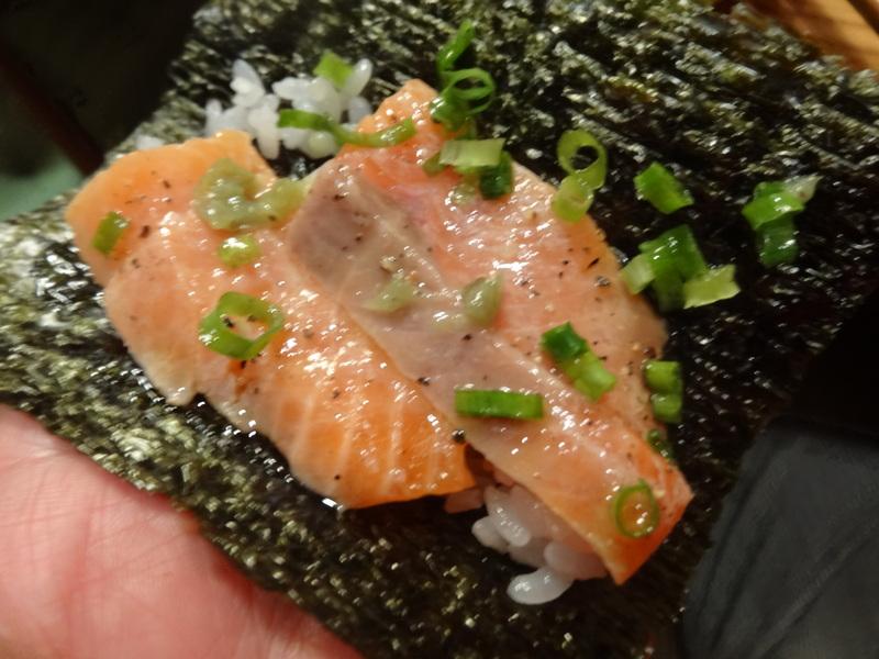 久し振りのキッチンスタジアム、この日は手巻き寿司です。_c0225997_9435799.jpg