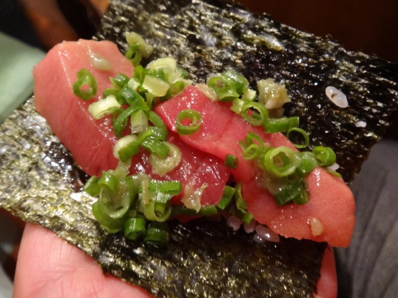 久し振りのキッチンスタジアム、この日は手巻き寿司です。_c0225997_953665.jpg