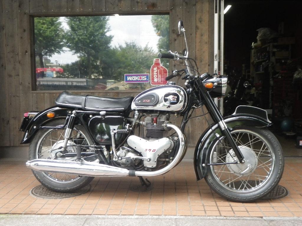 1963年式 メグロ K1(500cc)_e0325011_1113555.jpg