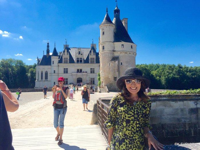 フランス周遊の旅 19 シュノンソー城_a0092659_0122843.jpg