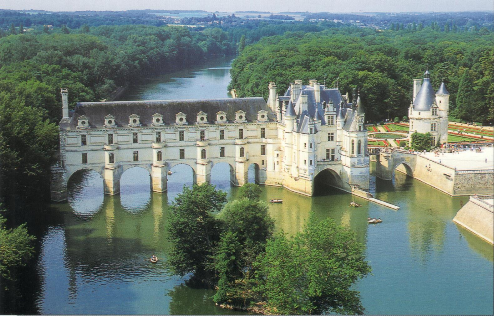フランス周遊の旅 19 シュノンソー城_a0092659_0195157.jpg