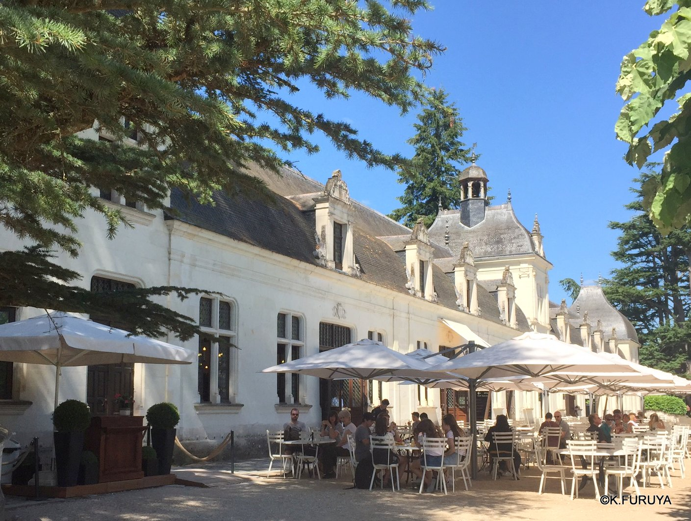 フランス周遊の旅 19 シュノンソー城_a0092659_23241322.jpg