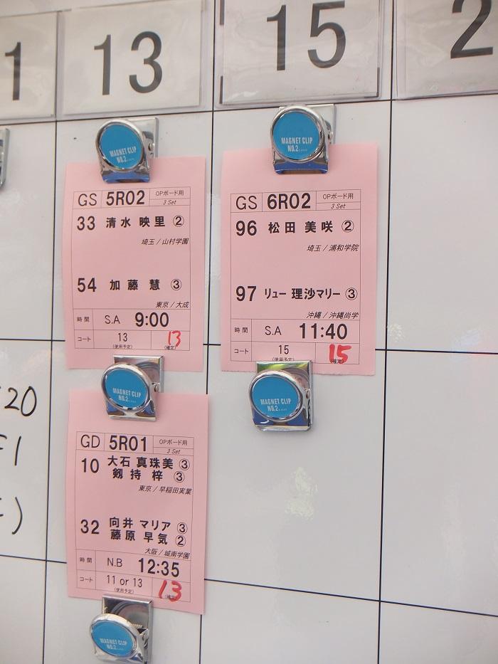 ◆2015夏のインターハイ テニス ~沖縄尚学・リュー理沙マリー~_f0238779_732023.jpg
