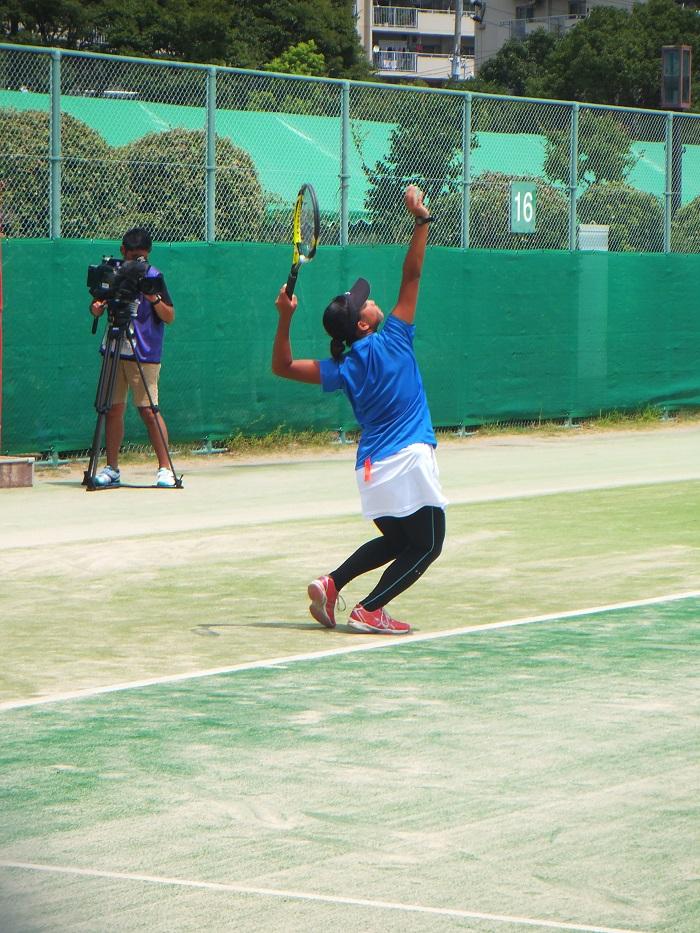 ◆2015夏のインターハイ テニス ~沖縄尚学・リュー理沙マリー~_f0238779_7321125.jpg