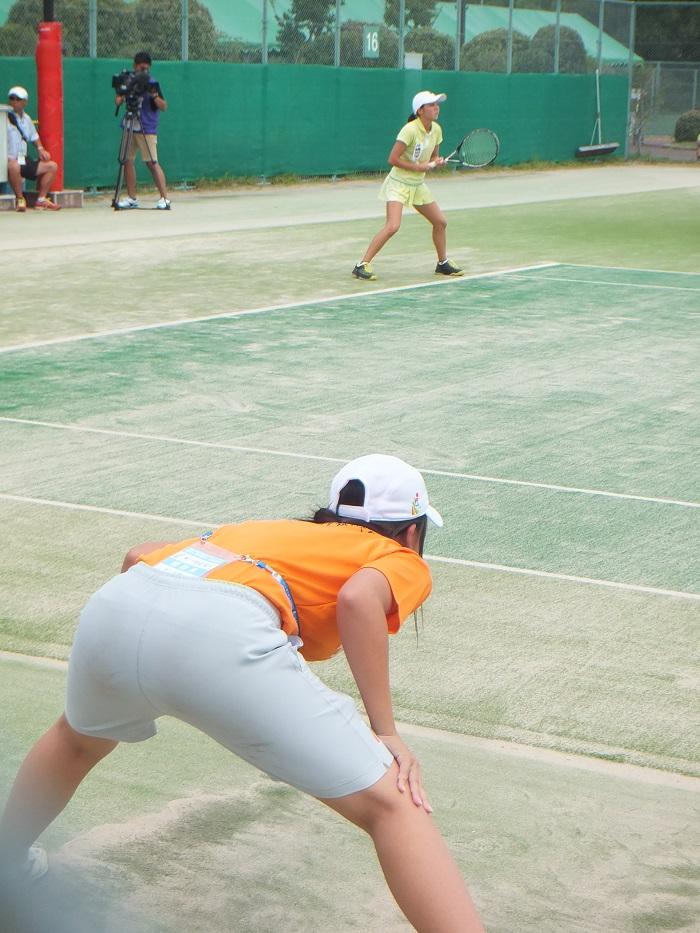 ◆2015夏のインターハイ テニス ~沖縄尚学・リュー理沙マリー~_f0238779_7332595.jpg