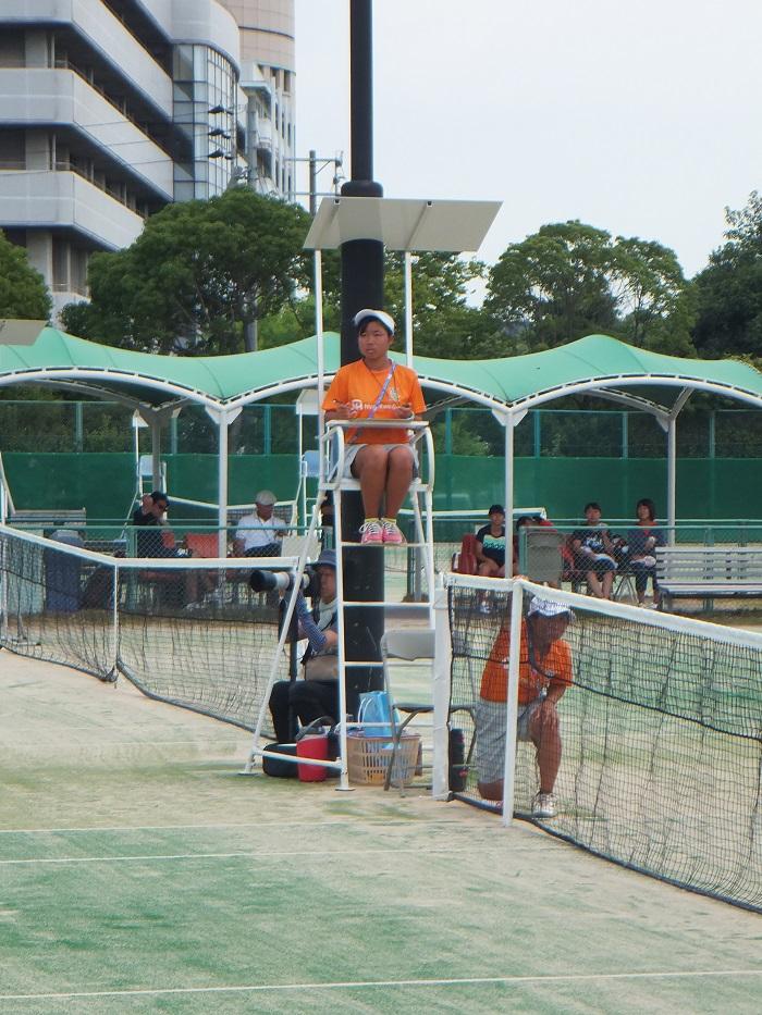 ◆2015夏のインターハイ テニス ~沖縄尚学・リュー理沙マリー~_f0238779_7333264.jpg