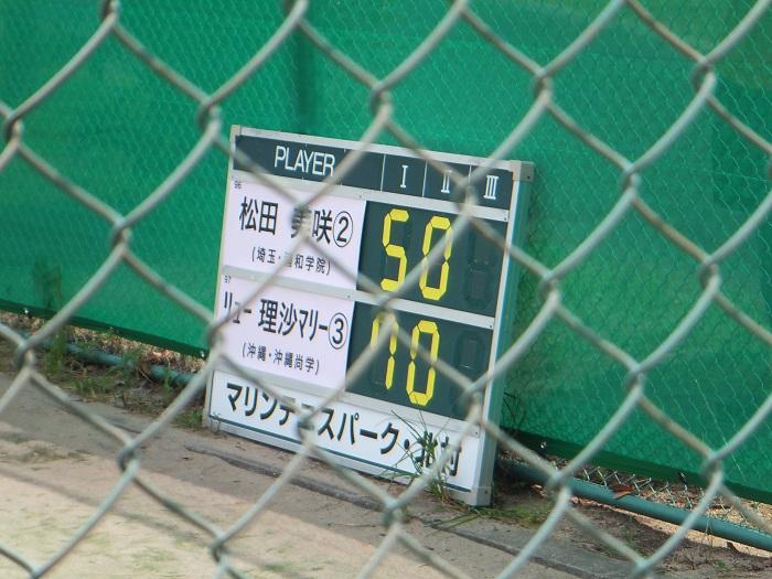 ◆2015夏のインターハイ テニス ~沖縄尚学・リュー理沙マリー~_f0238779_7341292.jpg