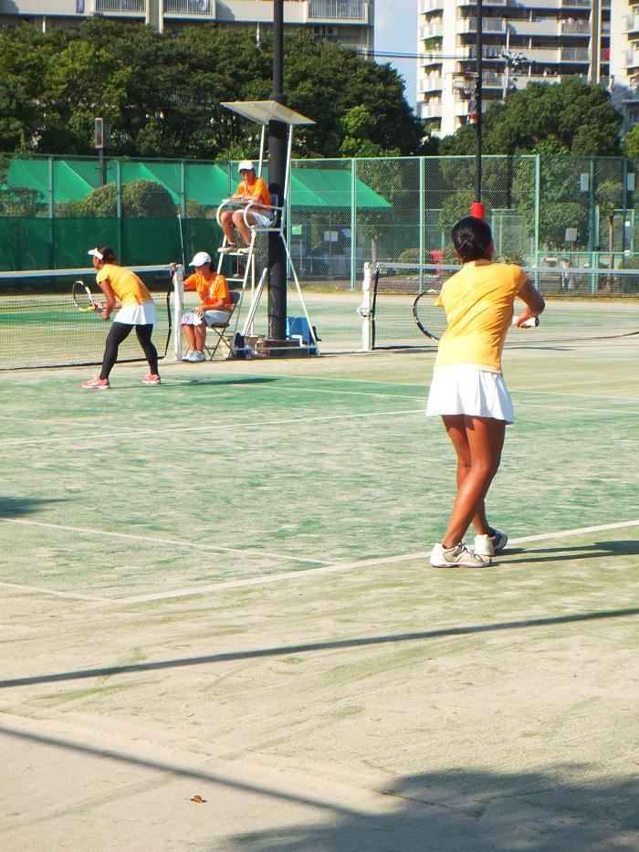 ◆2015夏のインターハイ テニス ~沖縄尚学・リュー理沙マリー~_f0238779_7351128.jpg