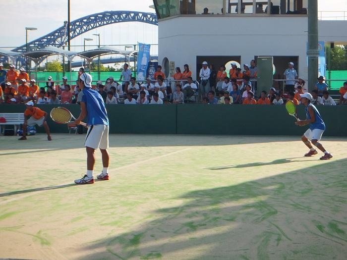 ◆2015夏のインターハイ テニス ~沖縄尚学・リュー理沙マリー~_f0238779_7352939.jpg