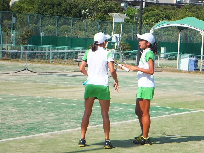 ◆2015夏のインターハイ テニス ~沖縄尚学・リュー理沙マリー~_f0238779_7355778.jpg