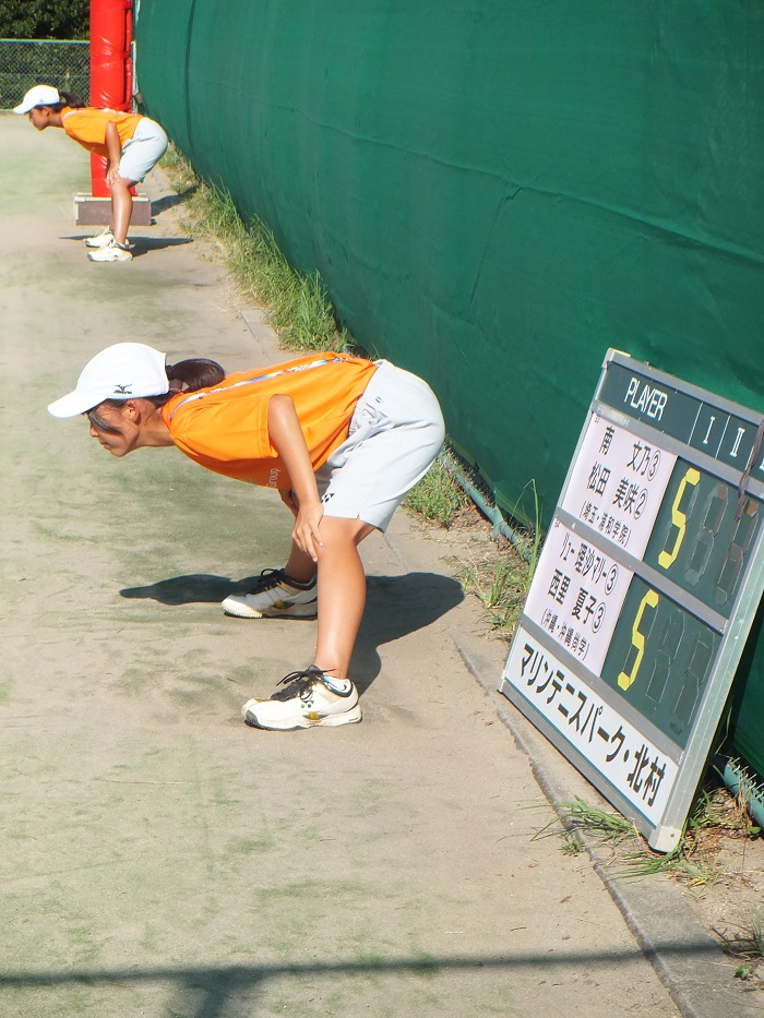 ◆2015夏のインターハイ テニス ~沖縄尚学・リュー理沙マリー~_f0238779_7362739.jpg