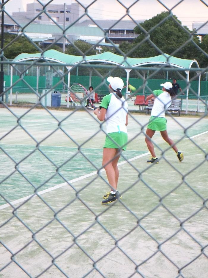 ◆2015夏のインターハイ テニス ~沖縄尚学・リュー理沙マリー~_f0238779_7372673.jpg