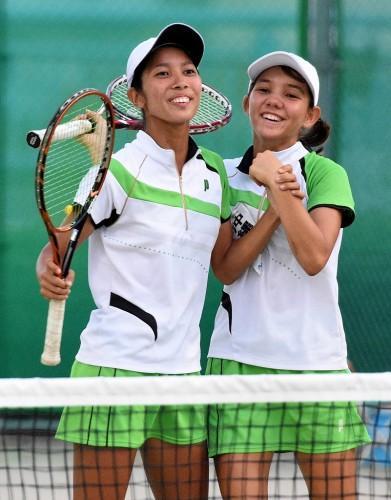 ◆2015夏のインターハイ テニス ~沖縄尚学・リュー理沙マリー~_f0238779_7501422.jpg