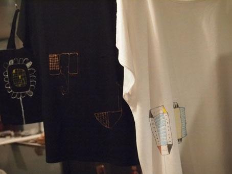 ka-ji-さんのTシャツとバッグ、マスミンの鋳物作品_b0322280_0285256.jpg