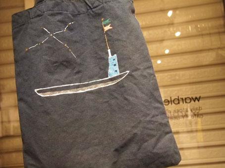 ka-ji-さんのTシャツとバッグ、マスミンの鋳物作品_b0322280_0293910.jpg